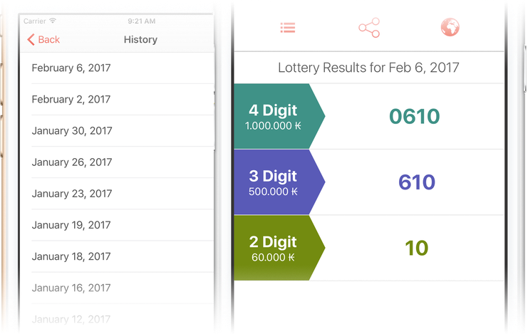 National Laos Lottery iOS