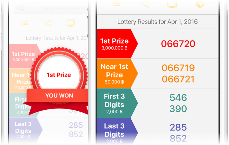National Thailand Lottery iOS